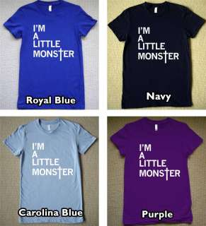 LITTLE MONSTER WOMENS T Shirt lady gaga music Tee