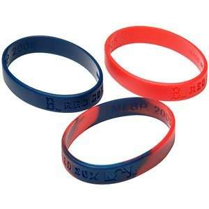 Major League Baseball Team Youth Wrist Band Sets   Boston Red Sox