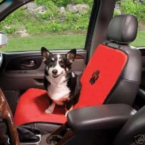 Guardian Gear Dog Pet Single Car Seat Cover RED Kitchen