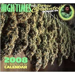 High Times 2008 Wall Calendar Office Products
