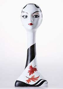 FIBERGLASS FEMALE MANNEQUIN HEAD FOR JEWELRY, WIGS, HATS ETC. (ZLTT6