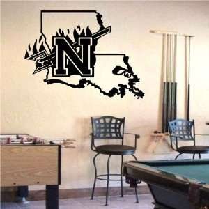 Wall Mural Vinyl Sticker Sports Logos Northwestern State Demons (S675