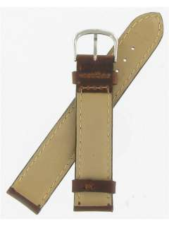 Swiss Army Cavalry II 19mm Brown Leather Band #09300