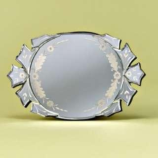 Venetian Gems Cara Mirror Tray Jewelry Storage