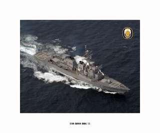 DDG 71 Guided Missile Destroyer, US Ship, USN Navy Photo Print
