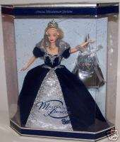 MILLENNIUM PRINCESS BARBIE DOLL HAPPY NEW YEAR 2000 MIB