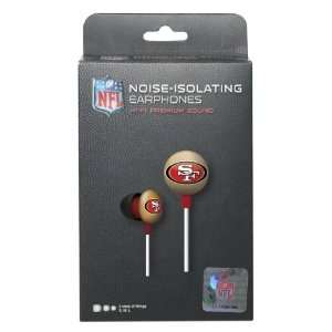 Logo Earbuds   San Francisco 49ers: Sports & Outdoors