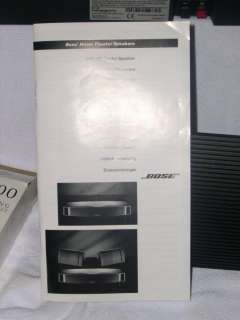 BOSE VCS 30 SURROUND SPEAKER PACKAGE VCS 10 CENTER CHANNEL SPEAKER