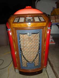 1947 Seeburg Symphonola Jukebox   Plays 78s!