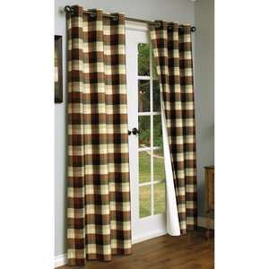 Thermalogic Mansfield Grommet Double Width Curtain Panel   One Pair