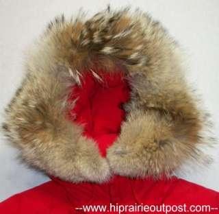 Eddie Bauer Premier Polar Parka Goose Down Coat Womens Size Small
