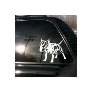 English Bull Terrier truck car vinyl decal Big: Everything