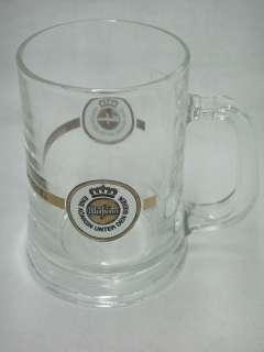 Warsteiner German Beer Stein Mug .3 Liter Clear Glass