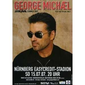 George Michael   25 Live Sommer 2007   CONCERT   POSTER