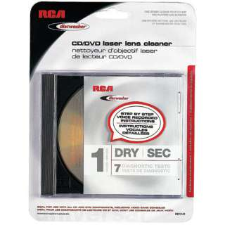 Discwasher RD1141 CD/DVD Laser Lens Cleaners (1 Brush