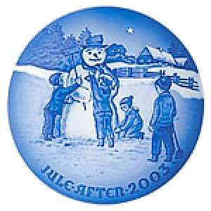 Frosty The Snowman 2003 Bing & Grondahl Christmas Plate