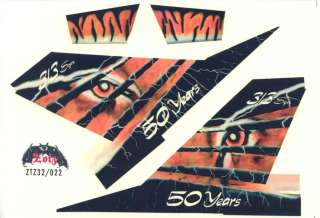 Decals Zotz 1/32 DUTCH F 16 HORNET Tiger Meet *MINT*