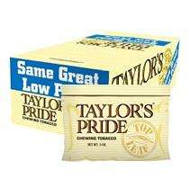 Taylors Pride Chewing Tobacco   12 / 3 oz.
