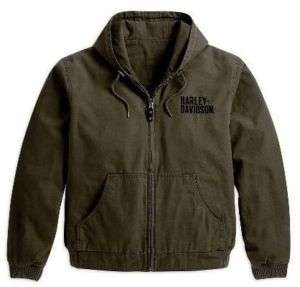 HARLEY DAVIDSON® REVERSIBLE BAR & SHIELD CANVAS JACKET
