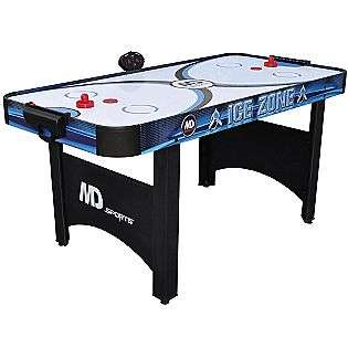 66in Air Powered Hockey Table with Bonus Table Tennis Top  Medal