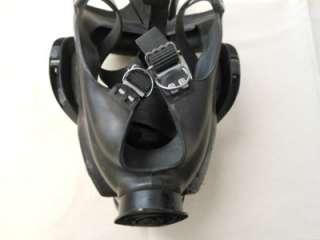 MSA GAS MASK BLACK RUBBER HEAD STRAPS