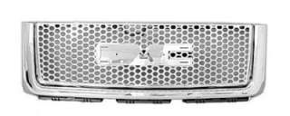 Replacement Grille   Fits GMC Sierra Denali   07 12 (Aftermarket