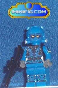 Custom LEGO minifig HALO Spartan Soldier in EOD armor