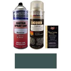 12.5 Oz. Dark Green Blue Metallic Spray Can Paint Kit for 1993 Toyota