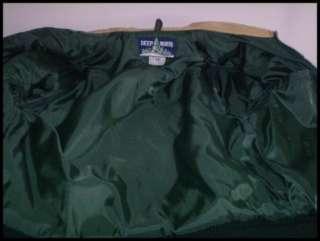 Mens vintage 80s DEEP NORTH combination ski jacket vest. The sleeves