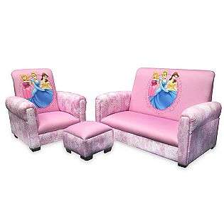 Disney   Minnie Mouse Chair and Ottoman  Delta Childrens Baby