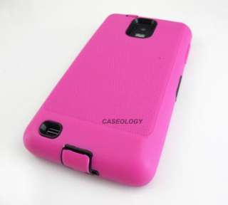 PINK IMPACT HARD COVER CASE SAMSUNG INFUSE 4G PHONE
