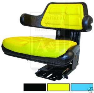 New Universal Tractor Seat John Deere Yellow & Black