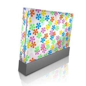 Flower Power Design Skin Decal Sticker for Nintendo Wii