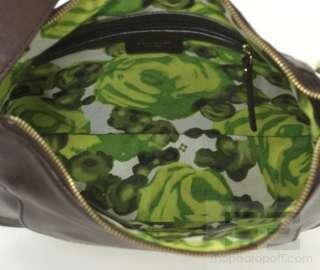 Kate Spade Dark Brown Leather Front Pocket Hobo Bag