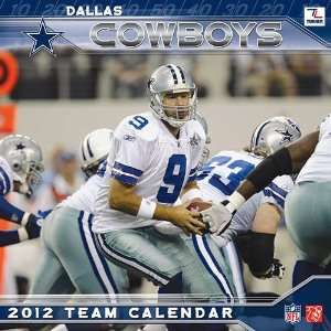 Dallas Cowboys 2012 Mini Wall Calendar: Office Products