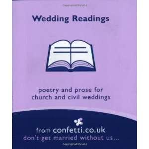 Wedding Readings (Confetti Mini Books) (9781840912296