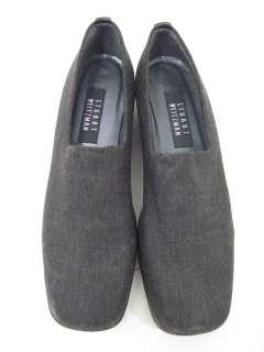 STUART WEITZMAN Black Knit Loafers Shoes Sz 8.5