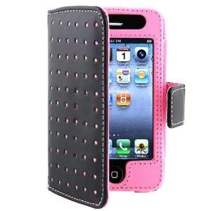 Wallet Leather Case compatible with Apple® iPhone® 4