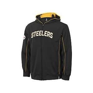 Reebok Pittsburgh Steelers Boys (4 7) Captain Hooded Fleece Kids 4