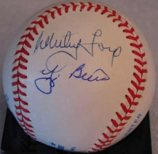 BERRA FORD RIZZUTO SIGNED AUTOGRAPHED PSA DNA BASEBALL M86404