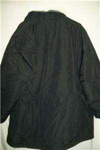 Lands End Nylon Fleece Lined Coat/Jacket, Womens 3X
