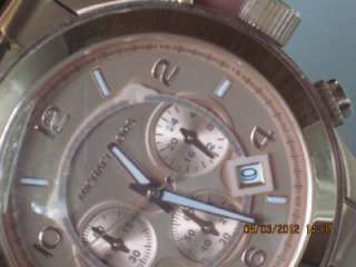 Michael Kors MK 8096 Mens Rose Gold Stainless Steel Chronograph Date