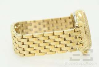 Michele CSX Chronograph Gold, Mother of Pearl & Diamond Bezel Watch