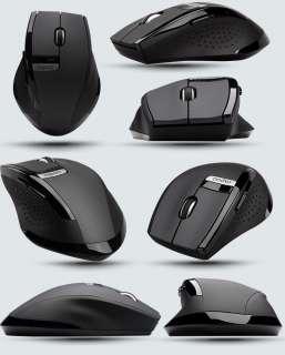 New 2.4GHz Rapoo3200 Ergonomic USB Wireless Laser Mouse