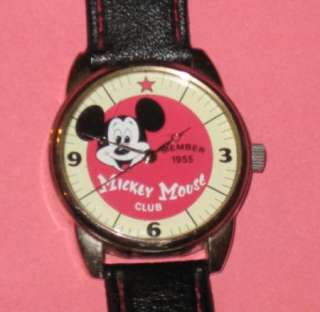 Disney Special Edition MICKEY MOUSE CLUB Watch
