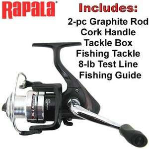 SPINNING ROD & REEL COMBO KIT ~ Worldwide Shipping from WESTLAKE