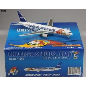 JCWings 200 ANA B767 300 Woody Jet Model Airplane