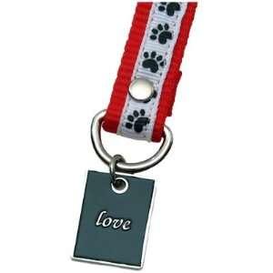 Dog Paw Print Love Pet Lover Charming KEYper Keychain