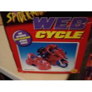 Marvel Comics Spider Man Web Cycle Toys & Games