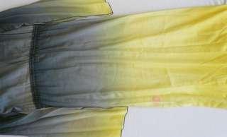 Hale Bob Caftan Maxi Long Dress XS 0 2 UK 4 6 NWT Tie Dye Silk Cotton